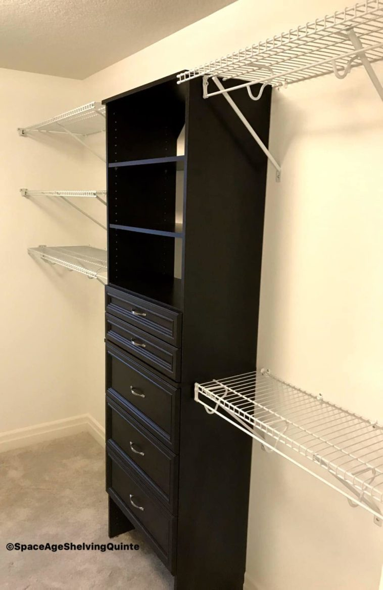 Wire Shelving With Melamine